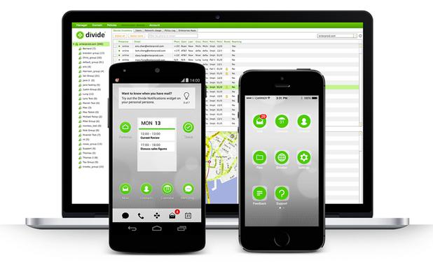 Divide разработва приложения за управление на корпоративни Android и iOS устройства