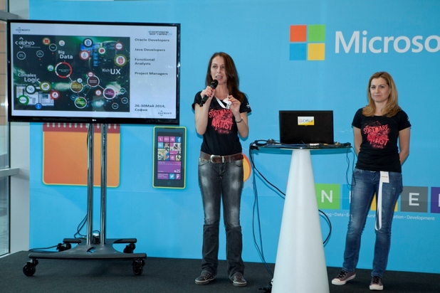 """Повече от 40 софтуерни специалиста ще се присъединят към екипа на Luxoft България в проект за българска компания от финансовия сектор, съобщи Диана Минкова (вляво), ръководител """"Подбор"""" в Luxoft България"""