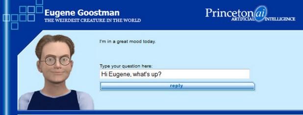 Програмата Eugene Goostman се представя за 13-годишен ученик и е достъпна за разговори онлайн (снимка: Eugene Goostman)