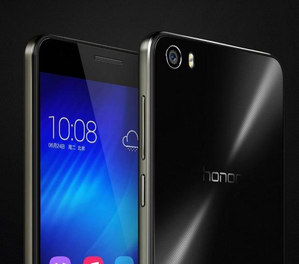 Екранът на Honor 6 заема 75,7% от предната повърхност, а ширината на страничните рамки е под 3 мм