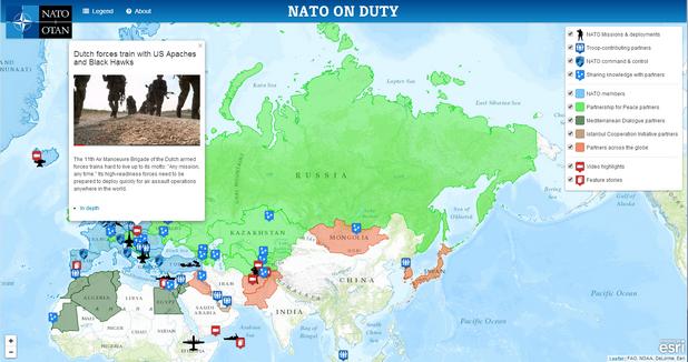 """""""NATO on Duty"""" показва мисиите, операциите и всички останали аспекти от работата на алианса по света"""