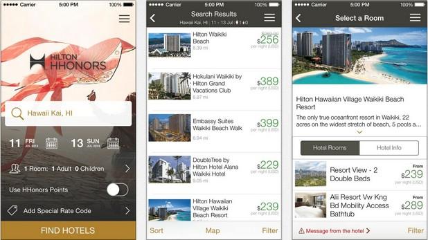 Посетителите на Hilton могат да избират хотелска стая с  приложение за iPhone, а скоро ще влизат в стаите си с помощта на смартфона