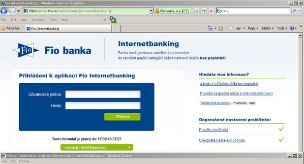 Троянецът Tinybanker инжектира уебформа, в която потребителите въвеждат данните за своите банкови акаунти