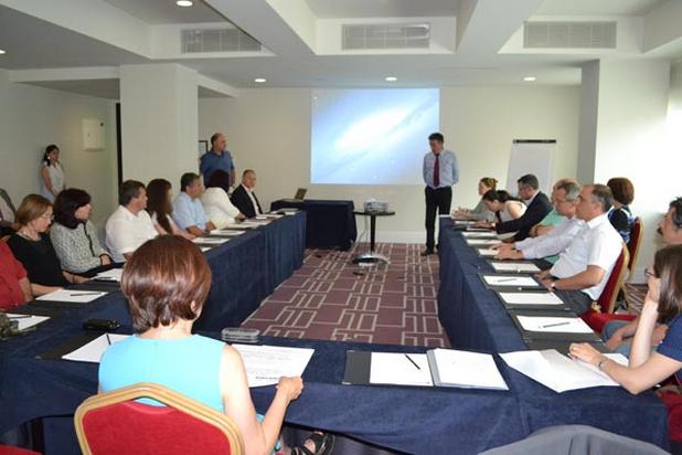 Проектът Beyond Everst цели да повиши иновационния капацитет на ФХФ и да комерсиализира на научните постижения, стана ясно на семинар в София (снимка: СУ)