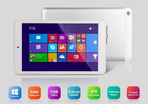 8-инчовият KingSing W8 е привлекателна алтернатива на Android таблетите