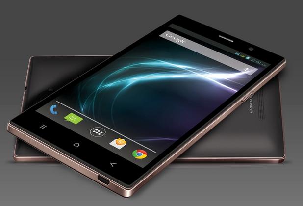 Magnum X604 има 6-инчов екран с резолюция 720p и работи под управление на Android KitKat