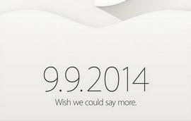Официалната покана от Apple за събитието в Купертино на 9 септември (източник: Shara Tibken/CNET)