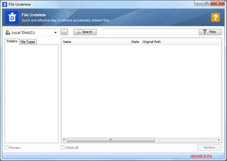 Glary Undelete сканира всяка папка в компютъра и търси файлове за възстановяване