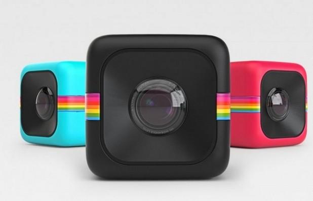 Компактната камера Polaroid Cube вече е налична за поръчки в няколко цветови варианта