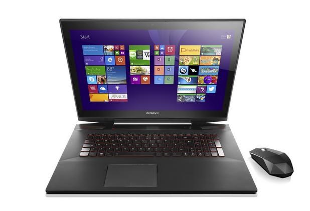 Със своя 17-инчов дисплей Y70 Touch е най-големият сензорен лаптоп на Lenovo
