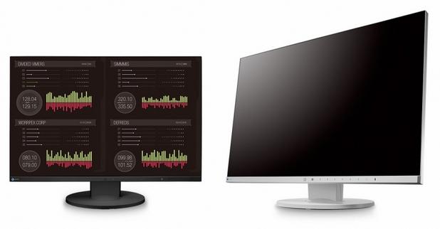 EIZO FlexScan EV2455 има екран с диагонал 24,1 инча и Full HD резолюция