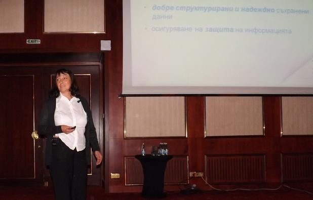 """""""Не можем да си позволим да загубим нито един бит от данните за продажби"""", заяви Мая Миланова, ИТ директор в Nestle България, по време на Big Data форум, организиран от IDC България"""