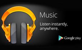 Google Play Music позволява безплатно съхранение на до 20 000 песни от личната библиотека в облака