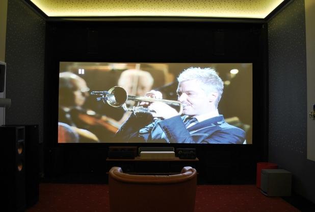 Изживяването в демо залите на Аудио Арте е като в големите киносалони