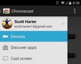 Chromecast за едноименната джаджа на Google е най-популярното мобилно приложение за свързани устройства в САЩ