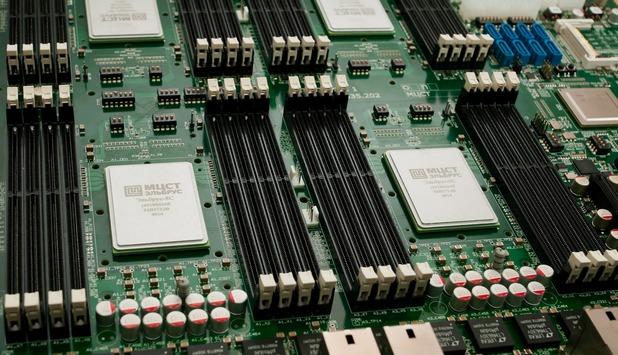 Линията процесори Елбрус са предназначени за сървърни приложения