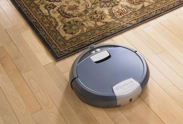 Scooba може да събира малки боклучета и прах, но не това е основната му задача – той е създаден да мие пода