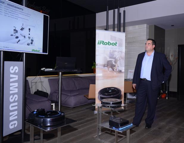 """Пазарът на роботи за дома в страната има огромен потенциал, в който ние ще инвестираме"""", заяви Драгомир Иванов, управител на Цертус Меркатус БГ"""