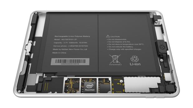 N1 стъпва на четириядрен процесор Intel Atom с тактова честота 2,4GHz