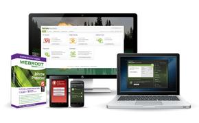 WEBROOT следи поведението на процеси и приложения, като ги изпълнява в безопасна Sandbox среда и ги сравнява в глобалната система за репутация