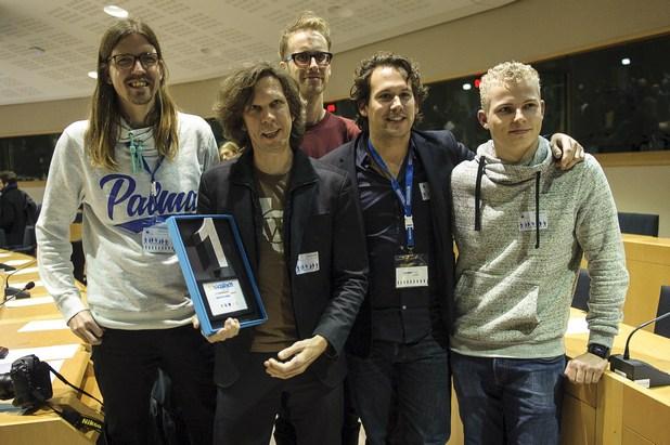 Отбор Videodock от Холандия спечели награда от 5000 евро на състезанието за програмисти EUhackathon2014