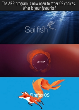 Модулният смартфон Vsenn ще може да работи с операционни системи Android, Firefox OS, Sailfish и Ubuntu