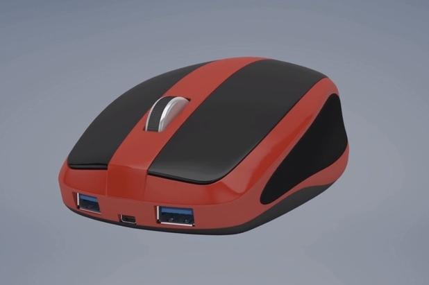 Mouse-Box побира в себе си миниатюрен компютър с достатъчно памет