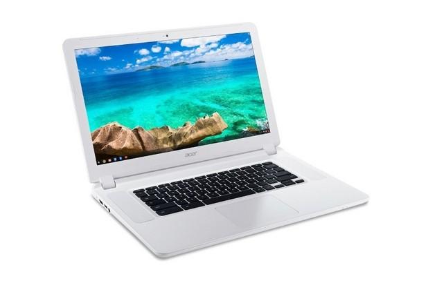 Acer Chromebook 15 ще се предлага с дисплеи Full HD 1920x1080 или 1366x768 пиксела