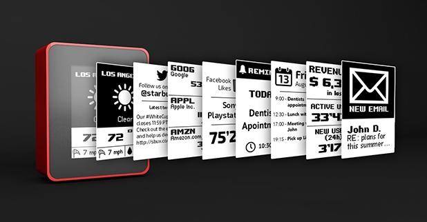 Displio разкрива неограничени възможности за показване на всякакъв тип информация чрез уидгети