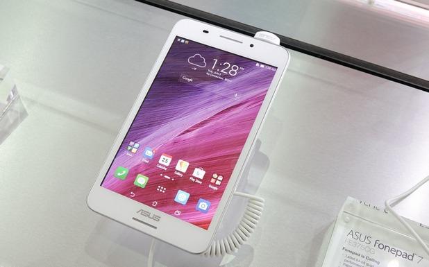 Таблетът Asus Fonepad 7 е един от продуктите, заради които КЗК наложи санкция на телекома