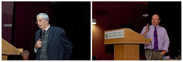 Двамата лектори от Израел - д-р Ели Мирон и д-р Гилад Равид – са добре познати на варненската аудитория
