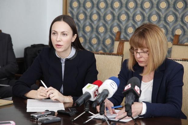 Нови е-услуги за гражданите и бизнеса представиха кметът на София Йорданка Фандъкова и евродепутатът Ева Паунова