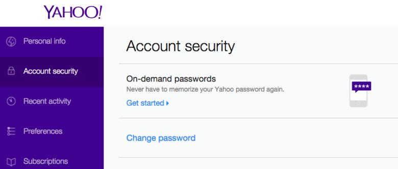 """Специалистите наричат новия процес за достъп до акаунти в Yahoo """"еднофакторна автентификация"""""""