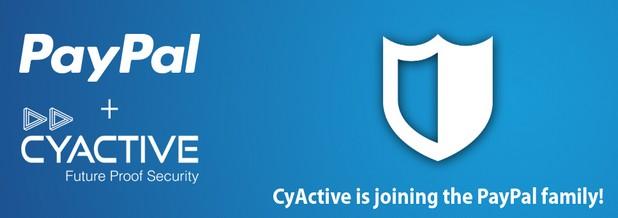 Перспективната стартираща компания CyActive от Израел вече е част от PayPal