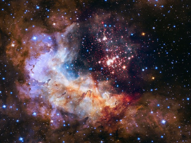 """Учените нарекоха изображението """"ключово научно откритие, наподобяващо пищно небесно шоу от фойерверки"""""""