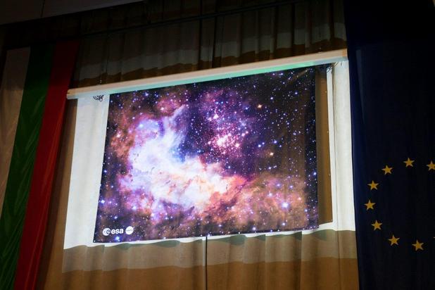 България бе една от 60-те държави в цяла Европа, в които бе разкрито космическото изображение от Хъбъл