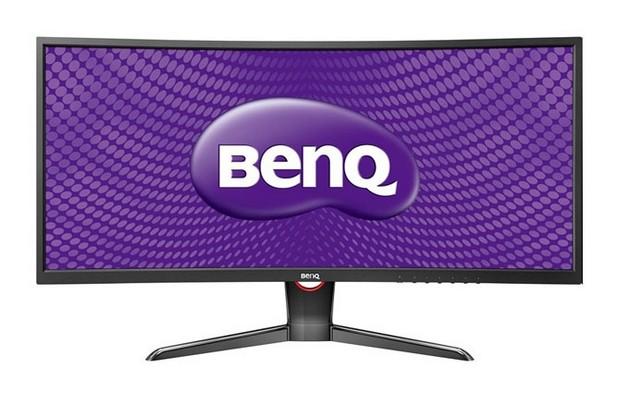 BenQ XR3501поддържа резолюция 2560х1080 пиксела, а картината се обновява с честота 144Hz