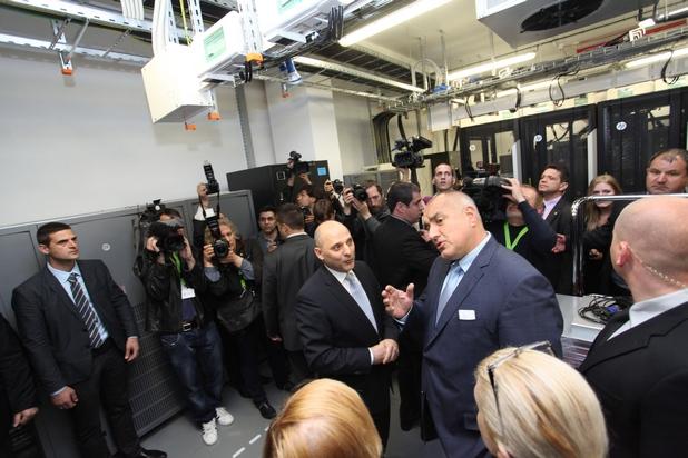 Министър-председателят Бойко Борисов участва в откриването на уникалната лаборатория на HP в София