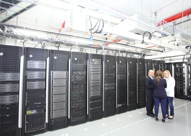Лабораторията на HP на стойност 10 млн. лв. е изграждана в продължение на 2 години