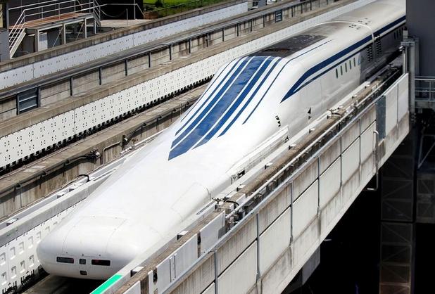 Ограничението на скоростта за комерсиална експлоатация на маглев влака е 500 км/ч