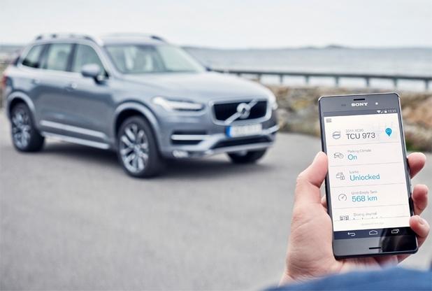 Приложението Volvo On Call е достъпно за притежателите на устройства под управление на Android, iOS и Windows Phone