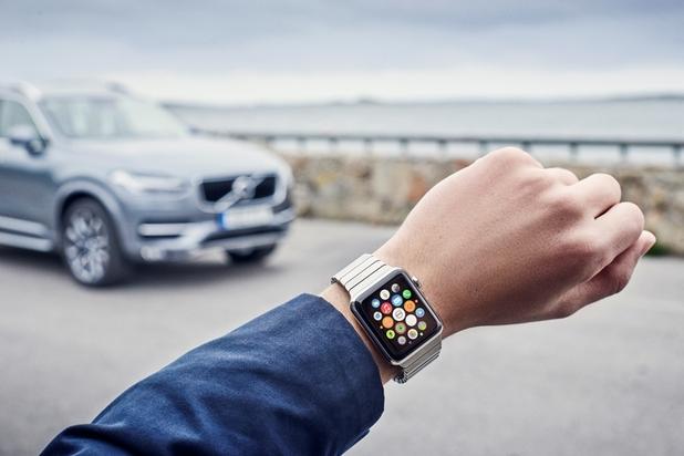 Собствениците на Volvo ще могат да управляват колите си и с помощта на умни часовници като Apple Watch