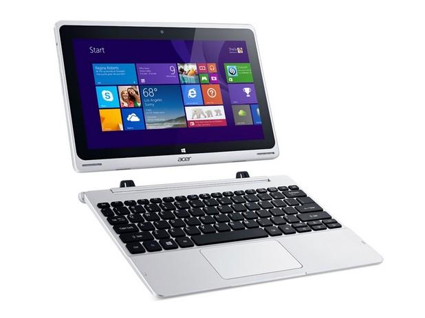 Aspire Switch 10V е устройство, което се преобразува от таблет в ноутбук и обратно