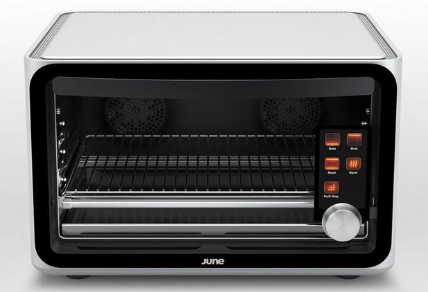 June Intelligent Oven изучава също така навиците на потребителите, базирайки се на храните, които те приготвят