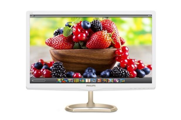 Philips 276E6ADS предостовя 27-инчов екран с резолюция Full HD 1920х1080 пиксела и 99% обхват на цветовото пространство Adobe RGB
