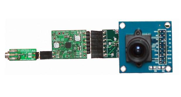 Тестова камера, захранвана рутер с технологията PoWiFi (снимка: Vamsi Talla)