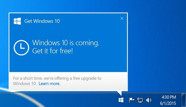 Вместо чрез резервиране, потребителите ще могат да се обновяват до Windows 10 по обичайни начин за ъпдейти