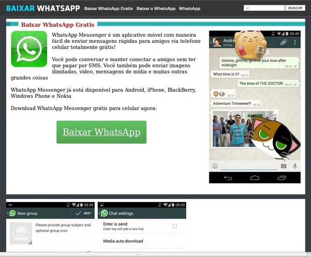 Вирусът TrojanSMS.Agent.ZS се разпространява маскиран като популярния месинджър WhatsApp
