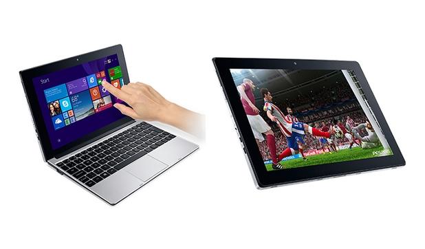 Бюджетният хибрид Acer One 10 може да се ползва еднакво добре и като ноутбук, и като таблет