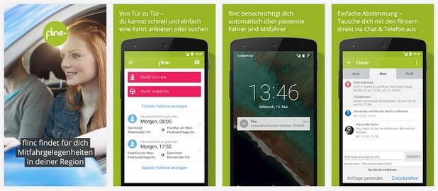 Платформата flinc ще осигури технологична платформа за споделяне на пътувания чрез новото приложение CarUnity на Opel